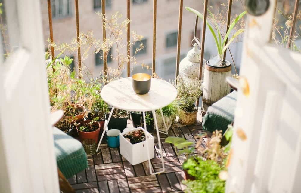 Beautiful Small Balcony Gardens