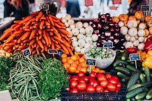 Market gardening farming