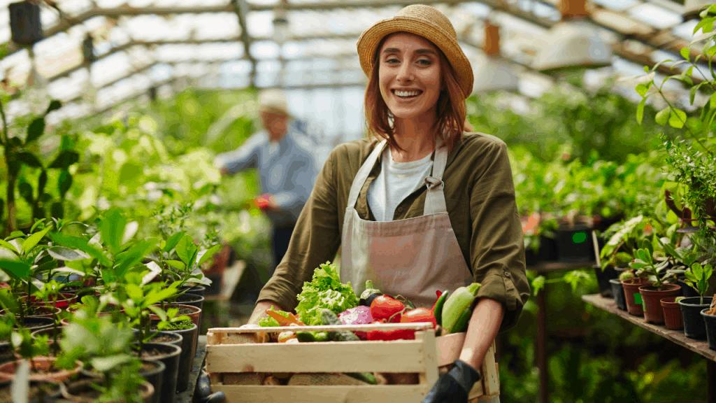 grow vegetables self-sufficient garden