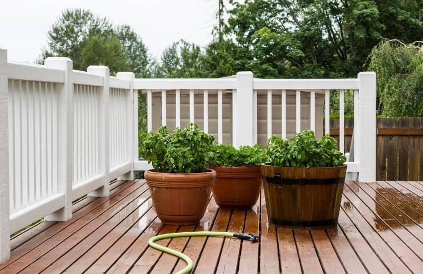 reuse bath water for garden