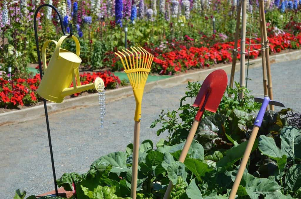 How to use Preen effectively in a vegetable garden